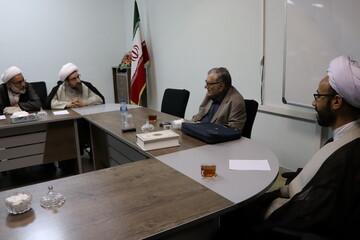 تصاویر/ نشست علمی اساتید حوزه علمیه تبریز