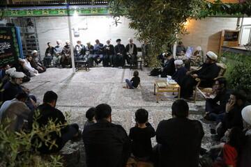 مراسم بزرگداشت حجتالاسلام ساحوری در قم برگزار شد