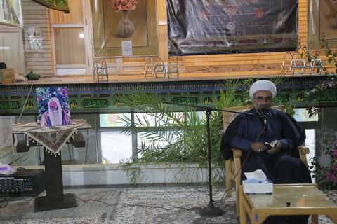تصاویر/ مراسم تشییع و بزرگداشت مرحوم شیخ خلیل ساحوری روحانی شیلیایی در قم