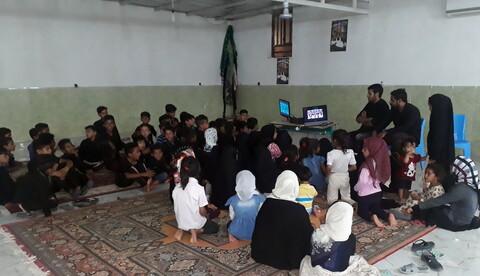 تصاویر/ فعالیتهای فرهنگی مبلغ روستای حسین آباد دهدار از توابع بخش اسماعیلیِ شهرستان جیرفت