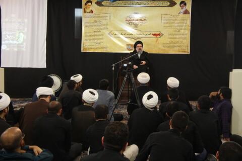 تصاویر/ جلسه درس اخلاق در مدرسه فقهی امیرالمومنین (ع)