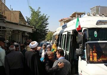 تصاویر/ حال و هوای استان کردستان در اربعین حسینی
