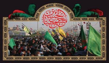 همراهی ستاد اربعین همدان با موکب داران برای پذیرایی از زوار حسینی