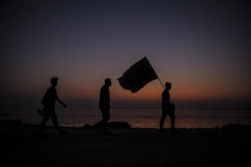 پیاده روی اربعین میتواند به سمت نابودی اسرائیل پیش رود