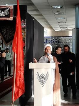 بدرقه نخستین قطار مشهد به کرمانشاه ویژه زائران اربعین