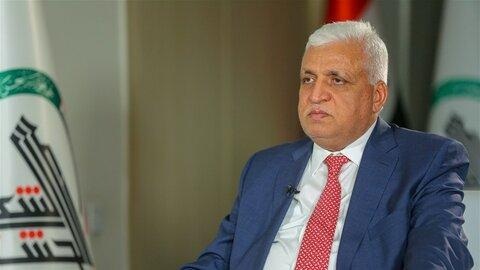 فالح الفیاض رئیس سازمان بسیج مردمی و مشاور امنیت ملی عراق