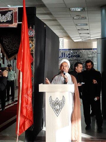 بدرقه کاروان زائران اربعین - حجت الاسلام احمری