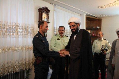عیادت امام جمعه همدان از مجروحان در درگیری با قاتل شهید قاسمی