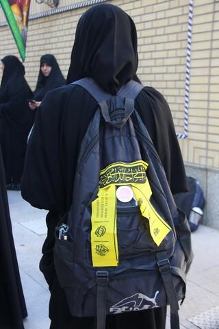 تصاویر/ بدرقه مبلغین اربعینی حوزه علمیه خواهران