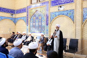 تصاویر/ دومین نشست شورای معاونان حوزه کرمان با طلاب مدارس