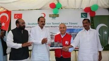 آغاز عملیات بازسازی مسجد 118 ساله در پاکستان