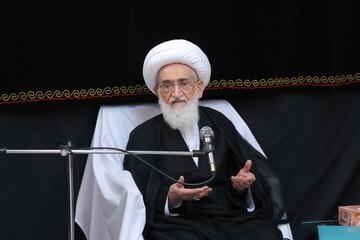 تقدیر آیتالله العظمی نوری همدانی از اقدام سازمان اطلاعات سپاه