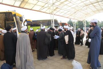 حمل و نقل رایگان زائران طلبه از اهواز تا شلمچه و چذابه