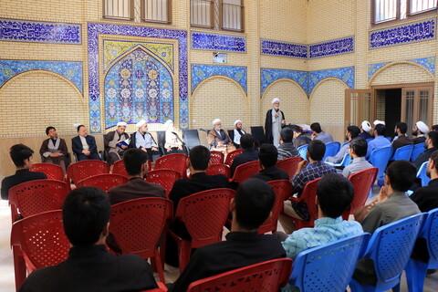 تصاویر/ دومین نشست شورای اداری حوزه علمیه استان کرمان با طلاب مدارس علمیه