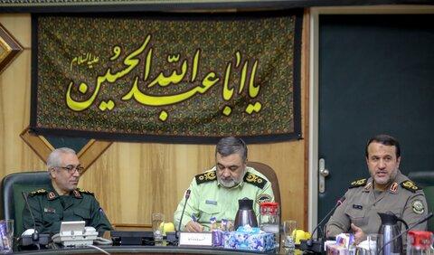 سردار کارگر در دیدار با فرمانده نیروی انتظامی