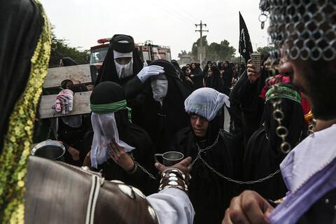 تصاویر/ کاروان پیاده روی 40 هزار نفری «مشایه» اهواز