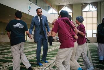 مدیر مسلمان موفق به دریافت جایزه ملی در ایالات متحده شد