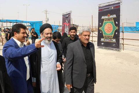بازدید حجت الاسلام و المسلمین نواب از پایانه های مرزی خوزستان