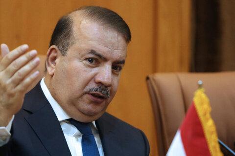 یاسین طاهر الیاسری ، وزیر کشور عراق