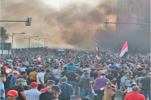 اغتشاشات عراق