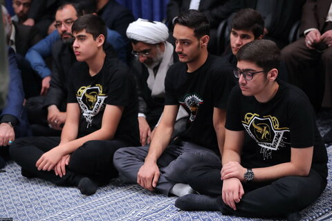 لصور/ لقاء النّخب والمتفوقين علميّاً في أنحاء البلاد بالإمام الخامنئي