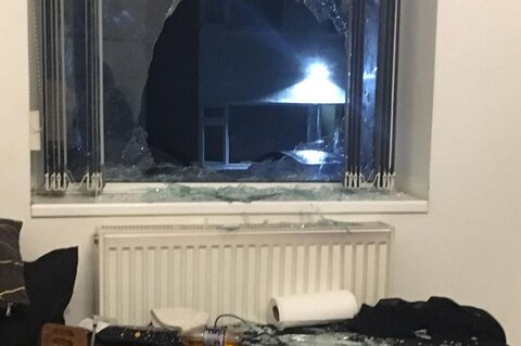 UK Mosque leader injured by brick hurled through house window
