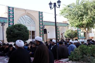 مسئولین حوزه علمیه استان کرمان با طلاب مدرسه محمودیه دیدار کردند