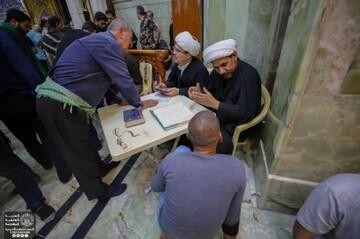 العتبة العلوية تنشر محطاتها الاستفتائية ضمن برنامجه لزيارة الأربعين