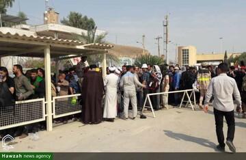 اسکان زوار غیرایرانی در موکب های کردستان