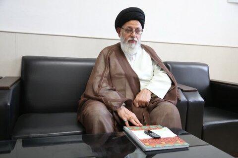 حجت الاسلام و المسلمین مدرسی یزدی