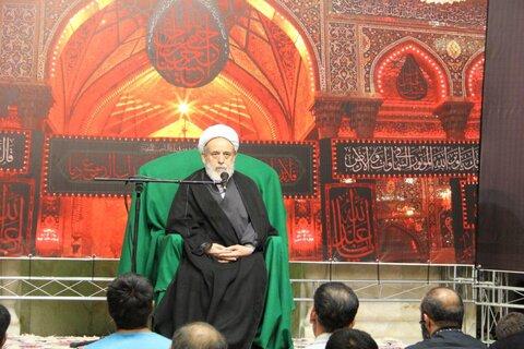 شیخ حسین انصاریان در سمنان