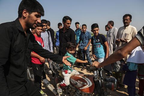 مستند تصویری/ قطع بودن تنها راه ارتباطی روستای عنافچه با شهرستان ملاثانی