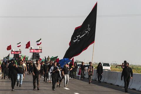 پیاده روی اربعین حسینی در مسیر مرز چذابه