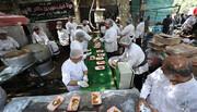 تصاویر/ خدمت رسانی موکب های کربلا به زائران اربعین حسینی