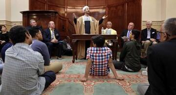 مراسم میان ادیانی به مناسبت 10 سال فعالیت مسجد وودلندز آمریکا