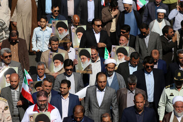 تصاویر/ آئین گرامیداشت ۱۹ مهر، سالروز سفر رهبر معظم انقلاب به خراسان شمالی