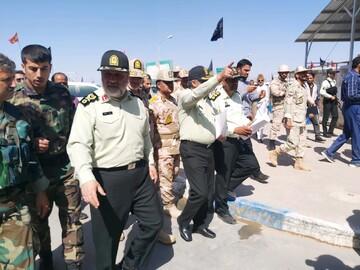 فرمانده ناجا از تلاش های شبانه روزی مرزداران در ماموریت بزرگ اربعین تقدیر کرد