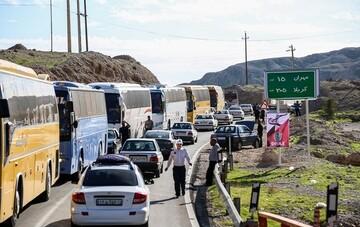 آماده سازی ۲۰۰ دستگاه اتوبوس برای اعزام به عراق