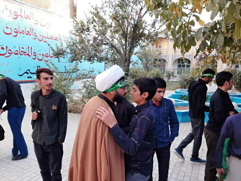 تصاویر/ بدرقه مبلغان اربعینی حوزه علمیه خراسان شمالی