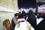 حضور تبلیغی حوزه علمیه عراق در راهپیمایی اربعین+ تصاویر