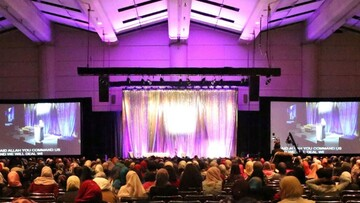 زنان مسلمان برای بزرگترین همایش در آمریکای شمالی جمع می شوند