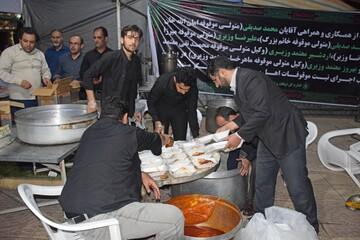 اطعام ۴۰ هزار نفر در موکب های اوقاف و امور خیریه کردستان
