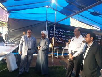 مدیریت خودجوش موکب ها توسط مردم نشان از ارادت قلبی به امام حسین(ع) است