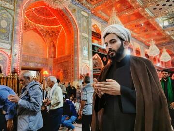 بازگشت کاروان طلاب کامیارانی از سفر اربعین حسینی