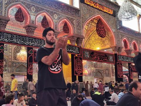 تصاویر/ حال و هوای اربعینی حرم سید الشهدا(ع)
