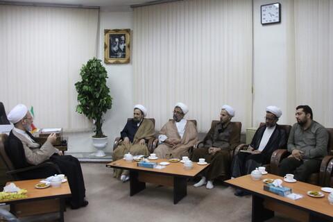 دیدار اعضای دبیرخانه همایش ملی «مقاومت اسلامی از نگاه قرآن کریم» با آیت الله اعرافی