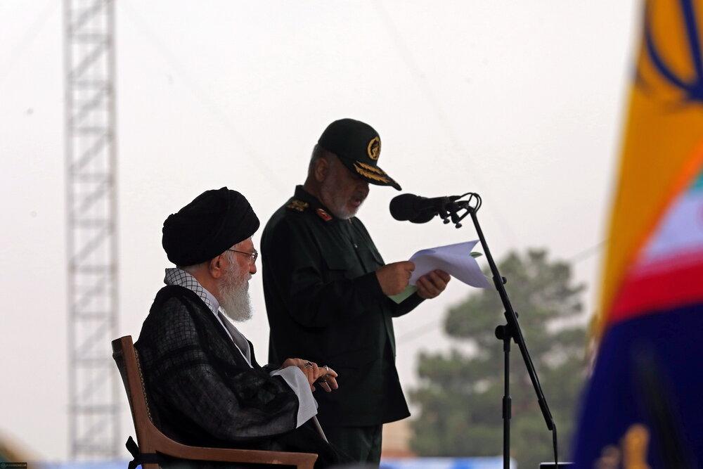 فیلم/ سخنرانی ولی امر مسلمین در مراسم دانشآموختگی دانشجویان دانشگاه امام حسین(ع)