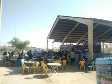 توزیع ۷۲ هزار  بطری آب معدنی میان زائران اربعین از سوی اداره اوقاف فارس