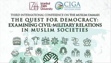 Istanbul moot: 'Muslims need to bolster civil society'