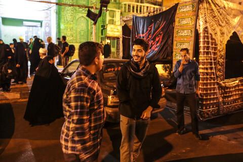 تصاویر/ بدرقه و اعزام جمعی از طلاب اهوازی به راهپیمایی اربعین